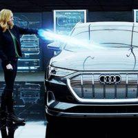 55359 Капитан Марвел в рекламе Audi e-tron и Мстителей 4: Финал