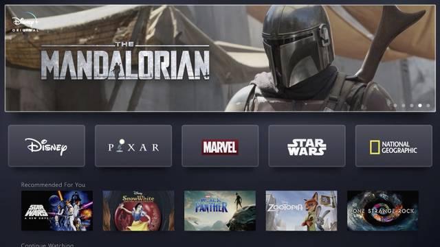 55186 Disney обнародовала весь контент своего потокового канала