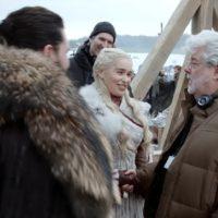 55230 Джордж Лукас посетил съемки «Игры престолов»: что он там делал?