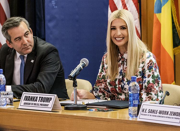 Иванка Трамп посетила страны Африки с официальным визитом