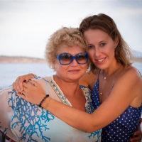 55548 Ксения Собчак и Максим Виторган отметили вместе день рождения Людмилы Нарусовой