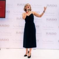 55929 Сила цвета: Юлия Пересильд на презентации Rado в Цюрихе