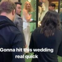 55511 Софи Тернер и Джо Джонас сыграли свадьбу в Лас-Вегасе