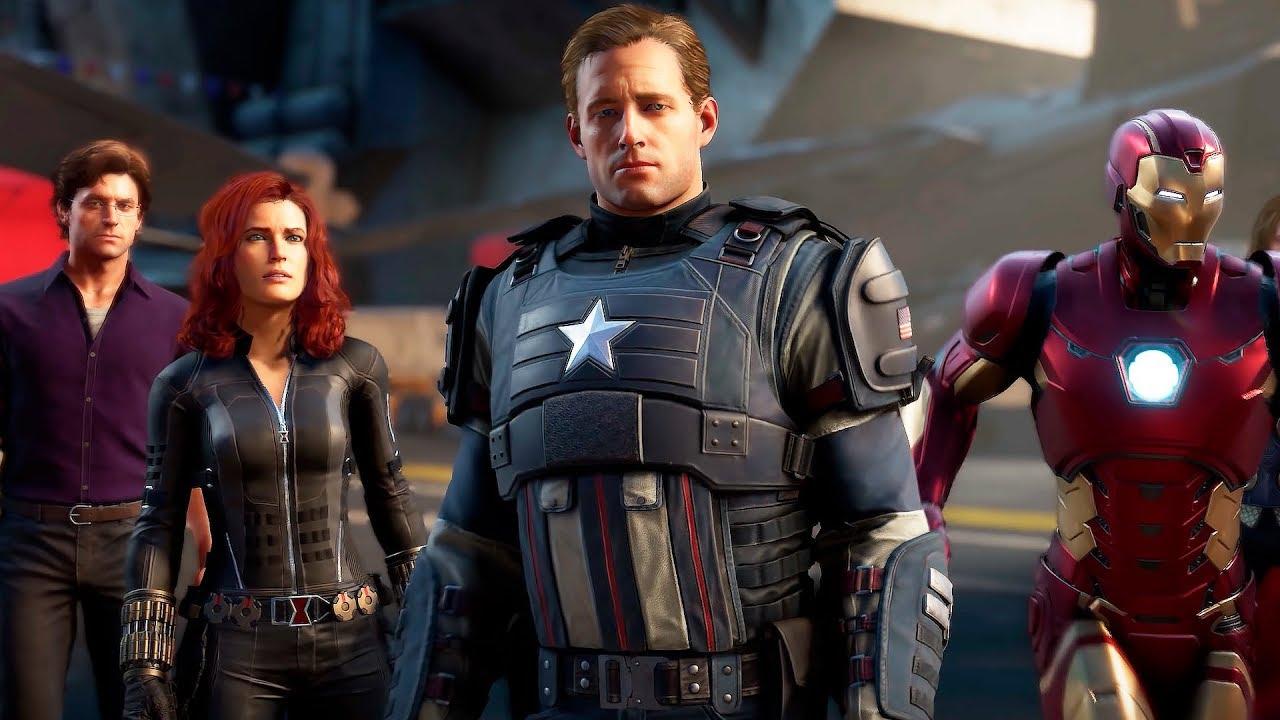 56186 Мстители Marvel — Русский трейлер игры (2020)
