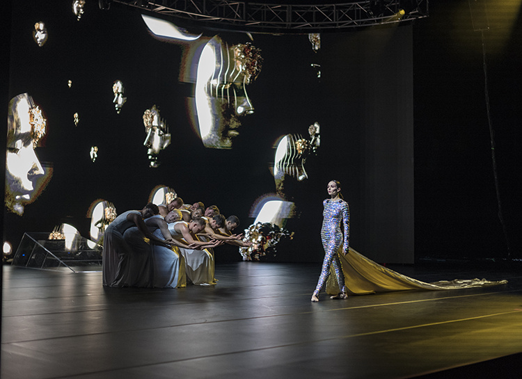 Диана Вишнева привезет в Москву шоу, покорившее Мэрилина Мэнсона