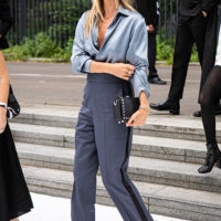56379 Как Наталья Водянова, Джиджи Хадид, Кейт Мосс и другие знаменитости одевались на Неделе моды в Париже