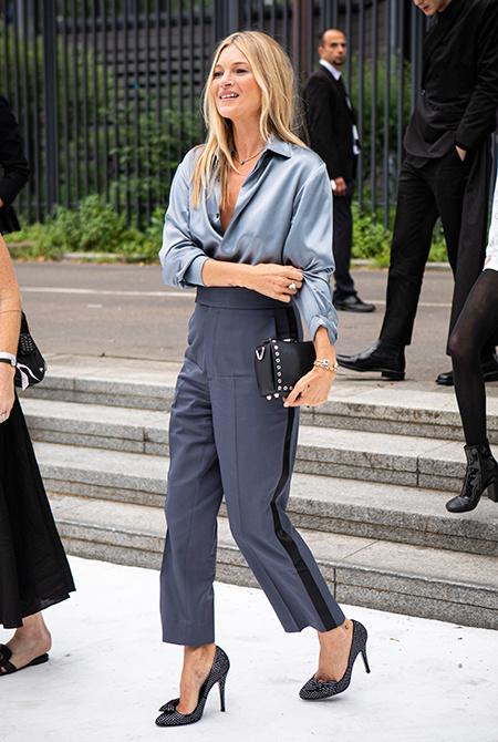 Как Наталья Водянова, Джиджи Хадид, Кейт Мосс и другие знаменитости одевались на Неделе моды в Париже