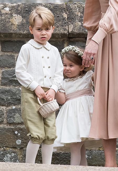 56344 Принц Джордж и принцесса Шарлотта станут пажом и цветочницей еще на одной свадьбе