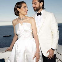 56038 Принцесса Монако Шарлотта Казираги и Димитрий Рассам поженились