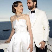 56450 Принцесса Монако Шарлотта Казираги и Димитрий Рассам сыграли вторую свадьбу