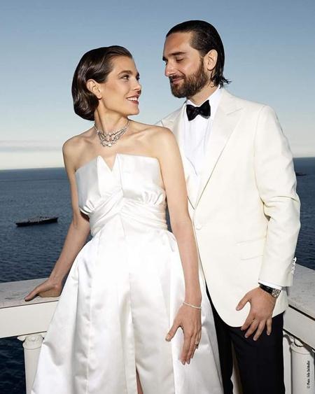 Принцесса Монако Шарлотта Казираги и Димитрий Рассам сыграли вторую свадьбу