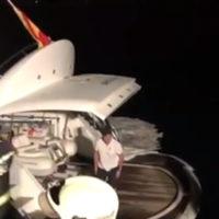 56369 Владимир Кличко вместе с семьей был эвакуирован с яхты из-за пожара