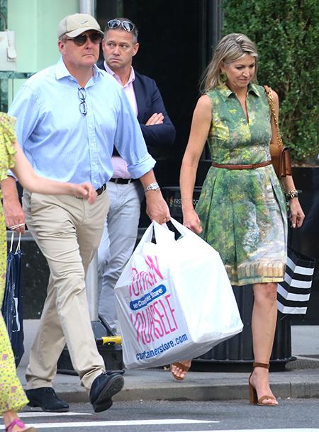 56778 Как обычная семья: король Нидерландов Виллем-Александр и королева Максима на шопинге в Нью-Йорке