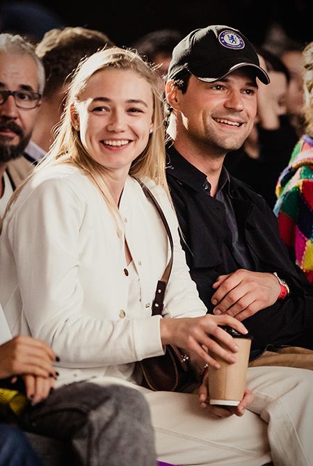 """56859 Максим Виторган и Нино Нинидзе на премьере фильма """"Гив ми либерти"""": первое фото пары"""