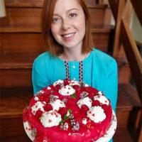 56768 На десерт: рецепт малиново-абрикосового муссового торта от Юлии Савичевой