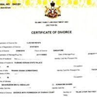 56754 Оксана Воеводина и экс-король Малайзии Мухаммад V развелись через год после свадьбы: так ли это