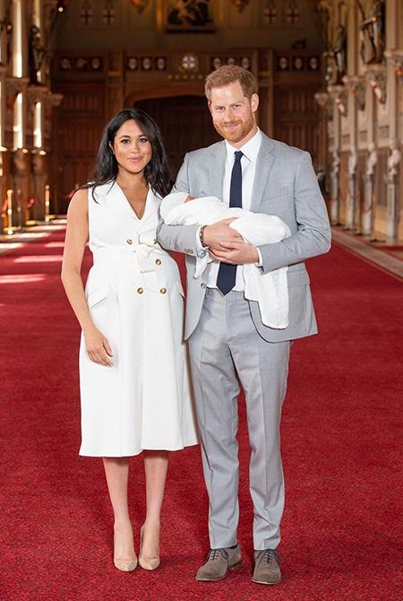Серена Уильямс станет крестной матерью сына Меган Маркл и принца Гарри