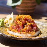 56611 Сытный ужин: рецепты тартаров - с гребешком, тунцом и лососем