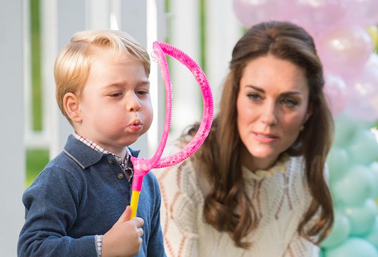 Волшебный мир принца Джорджа: как Кейт Миддлтон и принц Уильям отпразднуют 6-летие сына в Кенсингтонском дворце