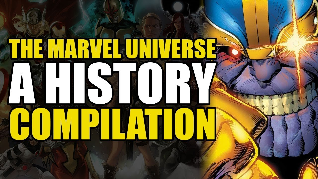57469 The Marvel Universe: A History (Full Story)