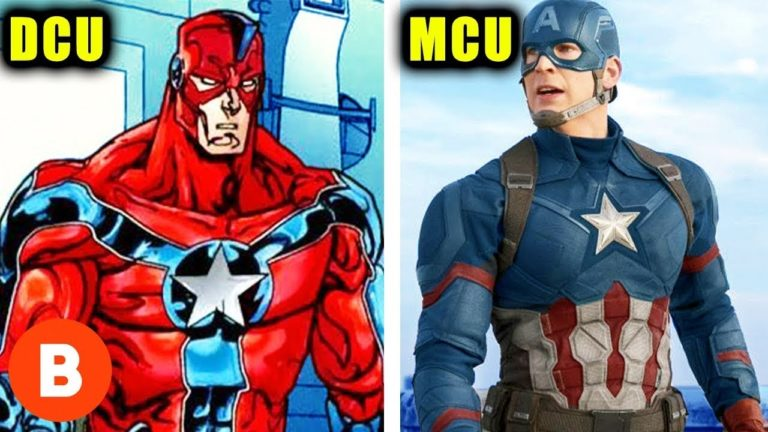 57522 Marvel Characters DC Copied Ranked