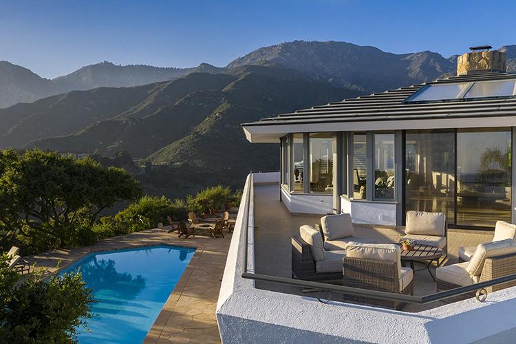 Как жил Джордж Майкл: экскурсия по особняку музыканта на холмах Санта-Барбары