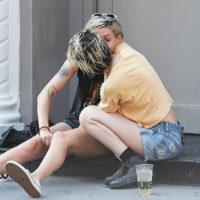 57206 Кристен Стюарт замечена за поцелуями с новой девушкой