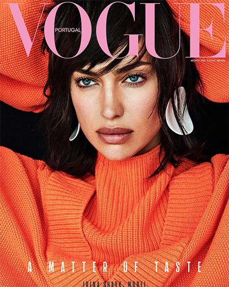 Кто круче: Ирина Шейк и звездный пародист Селеста Барбер устроили баттл на обложках Vogue
