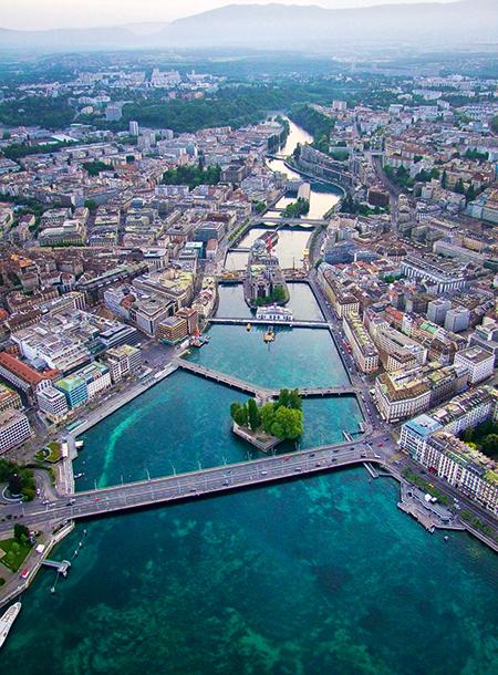 Встретимся у фонтана: что посмотреть в Женеве