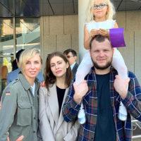57660 День знаний: Пересильд, Бондарчук, Климова, Орбакайте и другие звезды отвели детей в школу