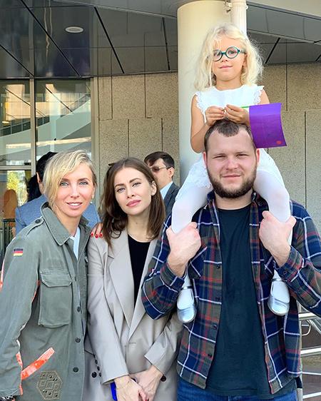 День знаний: Пересильд, Бондарчук, Климова, Орбакайте и другие звезды отвели детей в школу