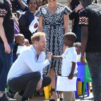 58013 Меган Маркл и принц Гарри прилетели в Южную Африку: первый день тура