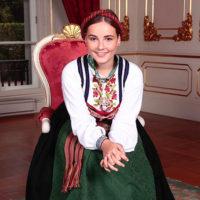 57658 Норвежская принцесса 15-летняя Ингрид Александра прошла обряд конфирмации
