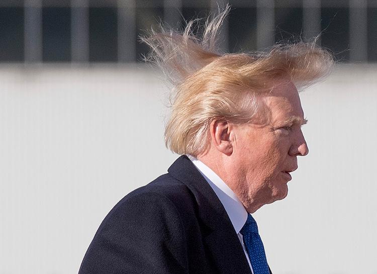 57825 Все не так плохо: Дональд Трамп ответил критикам о состоянии своих волос