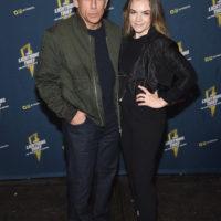 58429 Бен Стиллер с дочерью Эллой на премьере бродвейского мюзикла