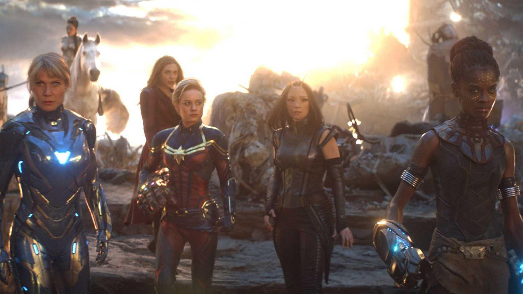 58312 Звезда «Капитана Марвел» говорит о женской версии «Мстителей»