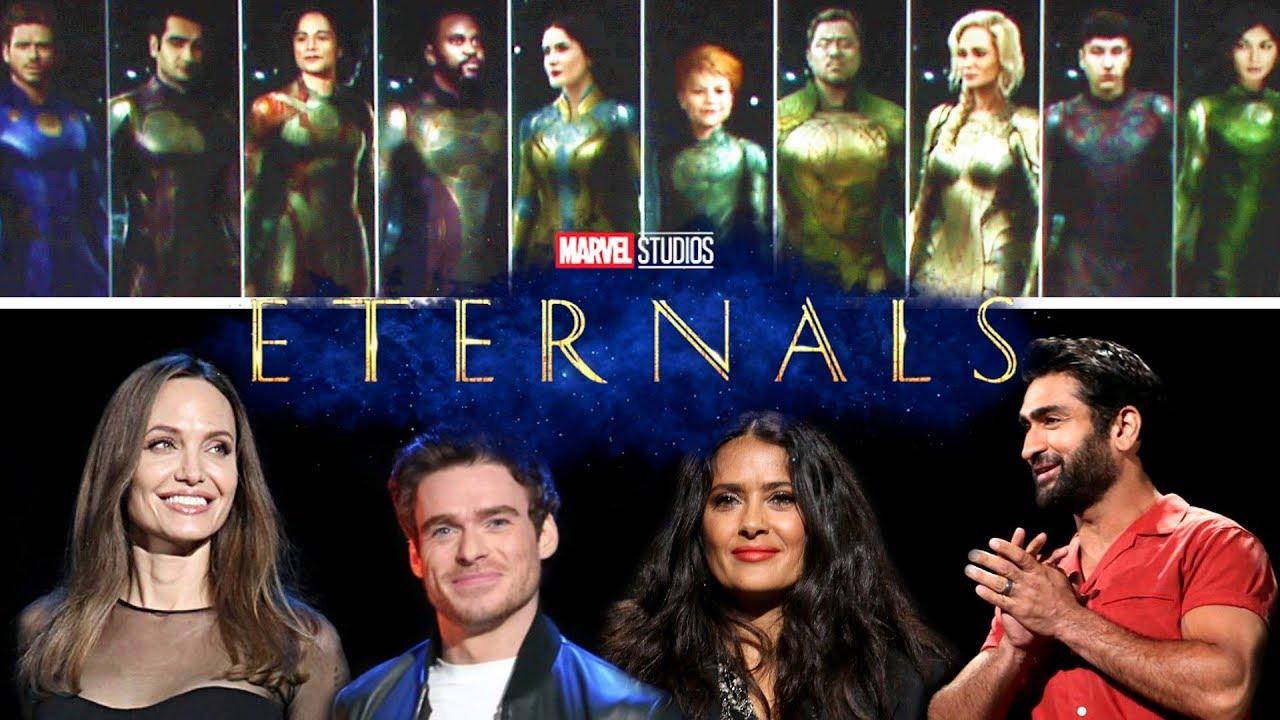 Marvel остановила съемки «Вечных» из-за бомбы