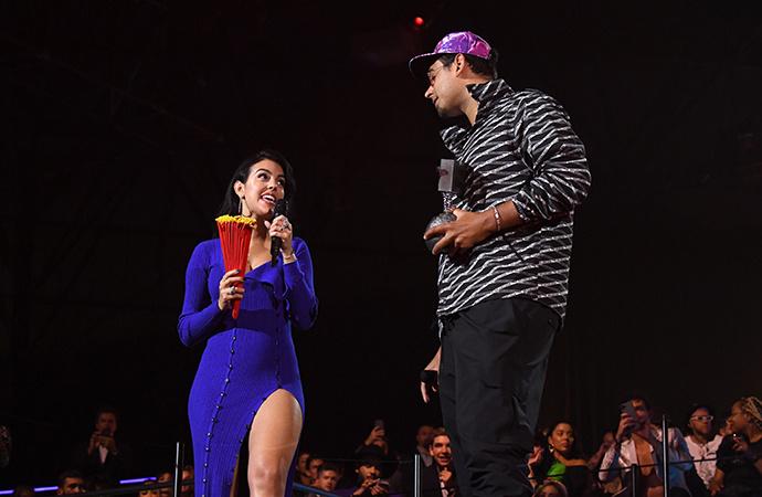 На контрасте: Криштиану Роналду и Джорджина Родригес на MTV EMA 2019