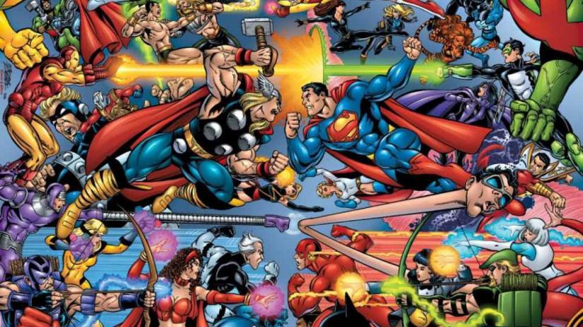 Режиссер «Стражей галактики» говорит о совместном проекте Marvel и DC