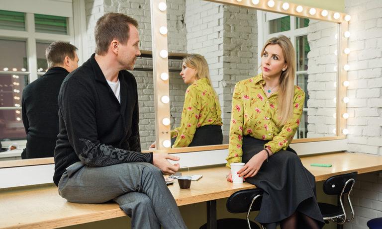 59512 Евгений Миронов в интервью Светлане Бондарчук о театральных реалиях сегодняшнего дня и курьезных случаях закулисной жизни