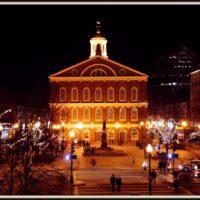 59577 Фанейл-Холл. Историческое сооружение в Бостоне
