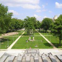 59756 Парк Берси на берегу Сены, Париж