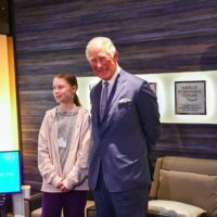 60703 Принц Чарльз встретился с 17-летней экоактивисткой Гретой Тунберг в Давосе: о чем они говорили
