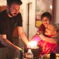 60533 Редкие кадры: Кристина Агилера отметила день рождения сына с бывшим мужем и прогулялась с нынешним