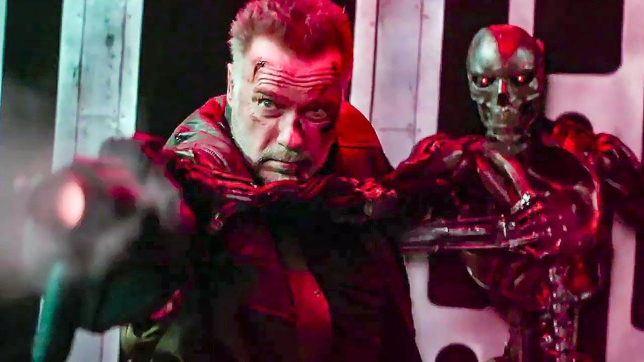 61542 Терминатор: Темные судьбы - Русский Red-Band трейлер (Субтитры) | Фильм 2019