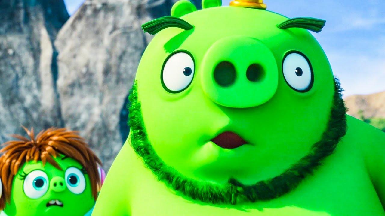 """62145 Мультфильм """"Angry Birds в кино 2"""" (2019) - Русский трейлер (Субтитры)"""
