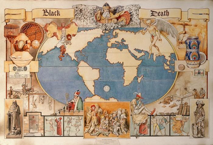 62455 Факты о Черной Смерти. История «худшей катастрофы в истории человечества»