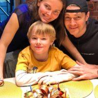 62694 Елизавета Боярская и Максим Матвеев поздравили старшего сына с днем рождения: новое семейное фото
