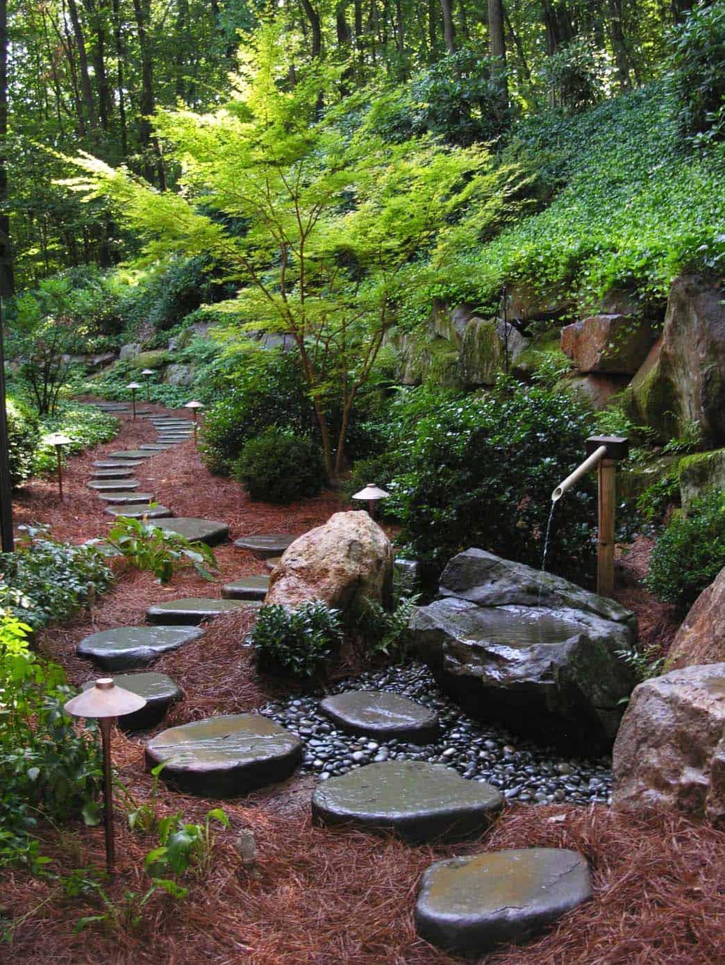 63168 Несколько идей оформления садовых дорожек. То что нужно для уютного дворика!