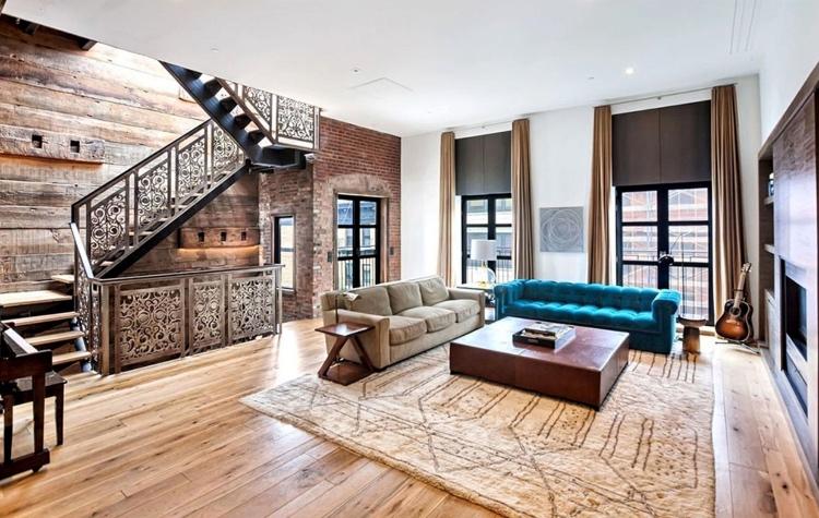 62703 В гостях у Джона Ледженда и Крисси Тейген: экскурсия по их новому лофту в Нью-Йорке